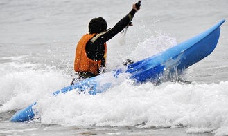 Single Kayak Rental and Surf Lessons Available in Vila Praia de Ancora, Portugal