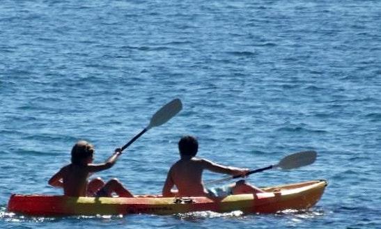 Tandem Kayak Rental In Vila Praia De Ancora, Portugal