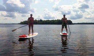 Stand Up Paddleboard Rental and Yoga in Bay Lake