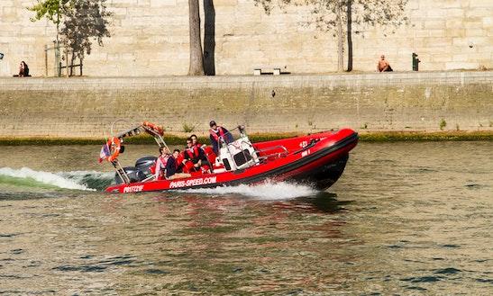 9' Motor Yacht Rental In Paris, France