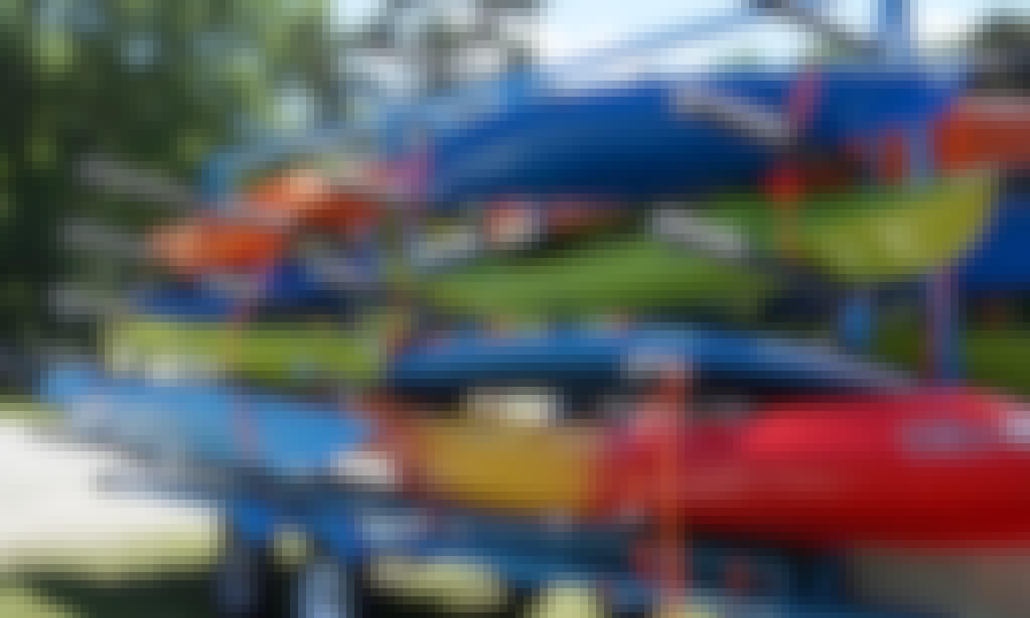 New Wave Marvel-145T Tandem Kayak Rental in Grimesland