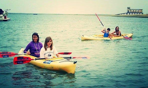 Double Kayak Rental in Fuseta