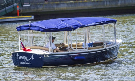 Explore Melbourne On Self Drive Electric Boat