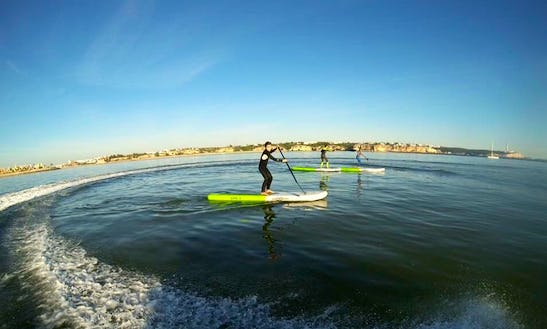 Stand Up Paddle Lesson In Portimão