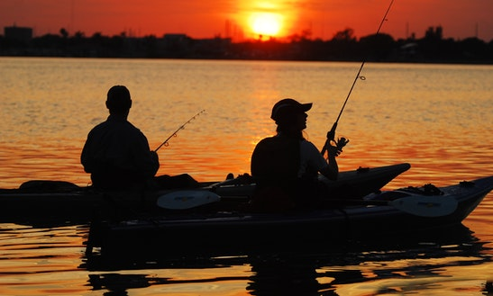 Guided Kayak Fishing In Port Orange