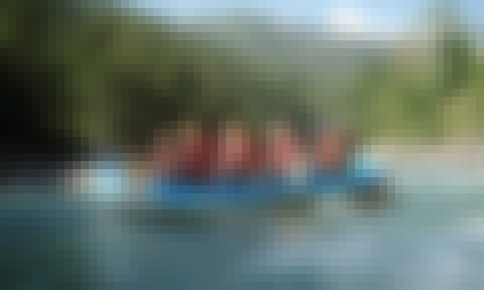 Rafting in Shannan Diqu