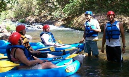 White Water Rafting On Rio Colorado