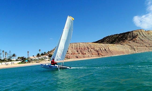Dart-16 Beach Catamaran Rental & Lessons in Luz Faro