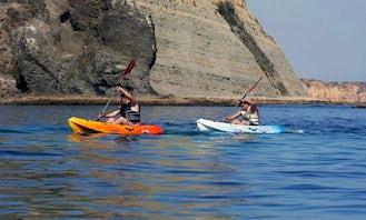 Single Ocean Kayak Hourly Rental in Luz, Faro