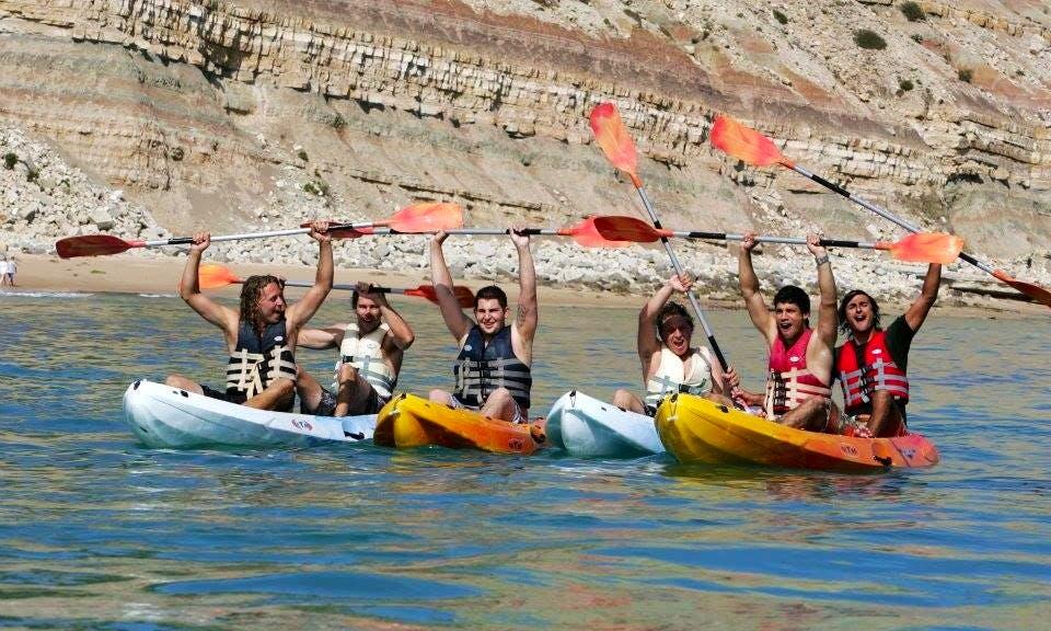 Double Ocean Kayak Rental in Luz Faro, Portugal