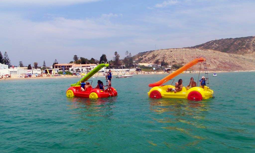Hidro Beetles Paddle Boat Rental in Luz Faro