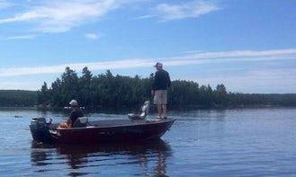 Fishing & Hunting at the Maynard Lake Lodge in Ontario, Canada