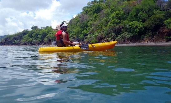 Single Ocean Kayak Rental In Sámara Beach
