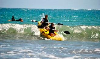 Double Ocean Kayak Rental in Sámara Beach