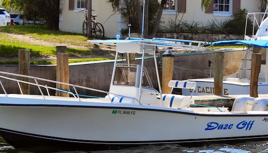 Fishing Charter On 26' Mako Center Console In Key Largo, Florida
