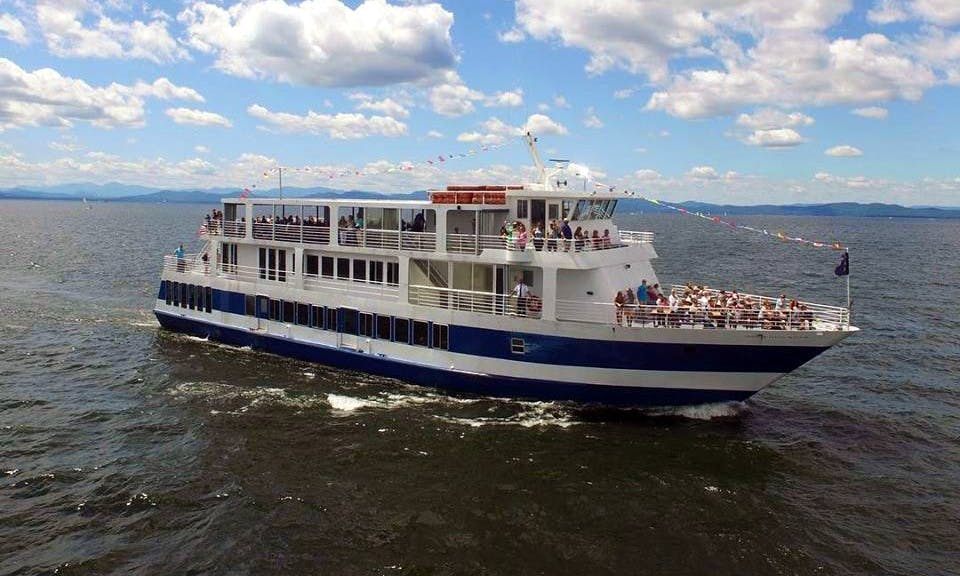 Spirit of Ethan Allen - Daily Scenic, Lunch, Brunch, Dinner cruises and more!