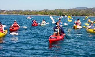 Single Sea Kayak Rental & Tours in Sámara Beach