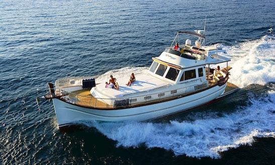 Classic Menorquin Cruise Yacht Rental In Mahón, Menorca