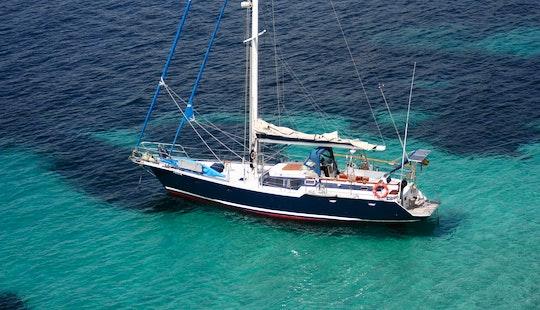 Sailing Monohull Charter 'sirocodiez' In Valencia