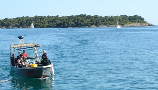 Boat Diving Trips And Dive Lesson For 6 Person In Pjescana Uvala, Croatia