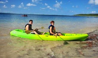 Two Person Kayak Rental in Fajardo, Puerto Rico