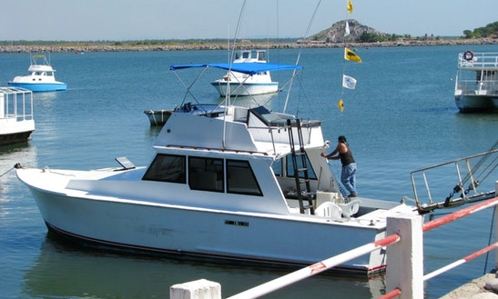 'elinor' Boat Deep Sea Fishing Charter In Mazatlán