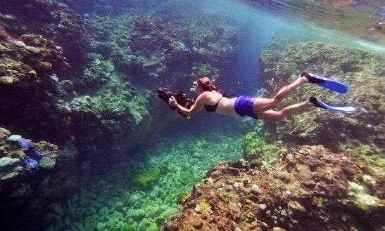 Underwater Scooter Experience In Alofi