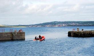 Sea Wolf Dive Boat In Ireland