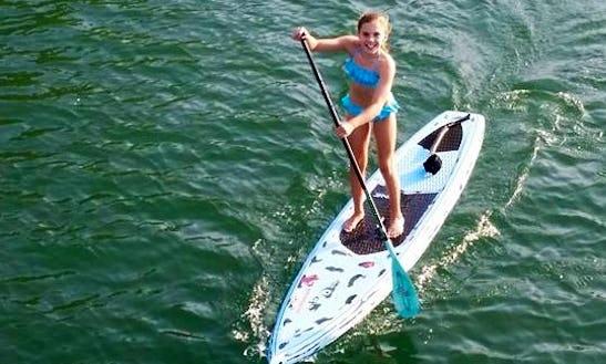 Paddleboard Fun In Currumbin, Australia