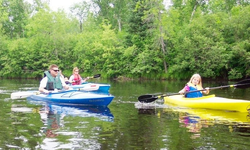 Book Single Kayak in Stuart, Florida with your family!