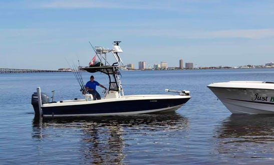Fishing Charter On 23ft 'justn Time' Boat In Pensacola Beach, Florida