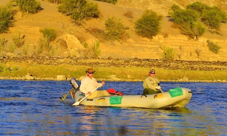Wilderness Raft Fly Fishing Charter in Kakamas