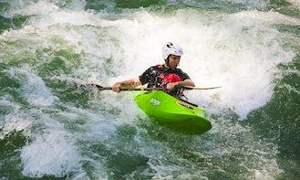 Kayaking Guided Rafting Trips in Cangrejal River