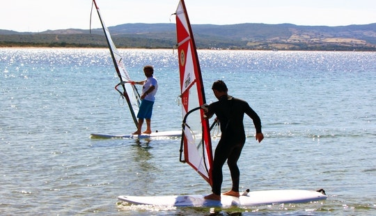 Windsurfing Lesson In Palau, Italy