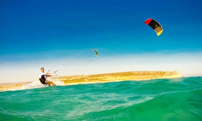 Kitesurfing Lesson In Limassol, Cyprus
