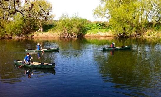 Canoe Trips On River Wye
