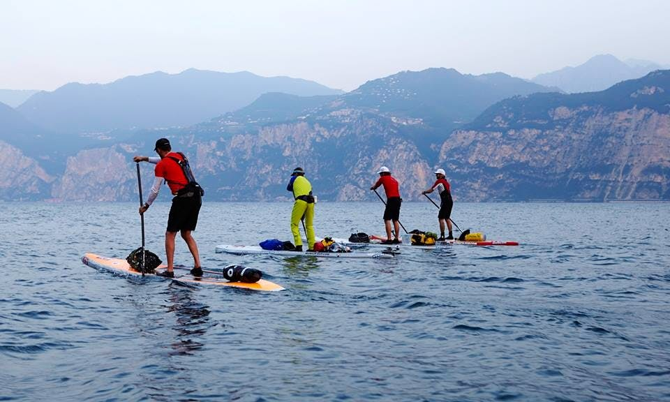 Rent SUP Boards In Malcesine, Italy