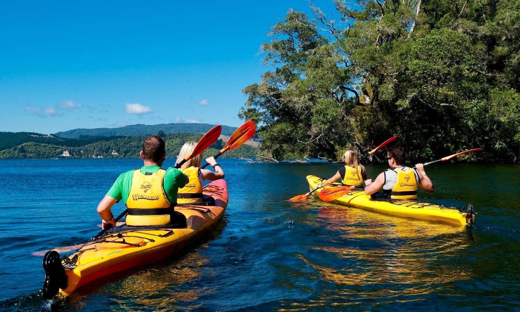 2-seater Kayak Tours & Rentals in Tauranga, New Zealand