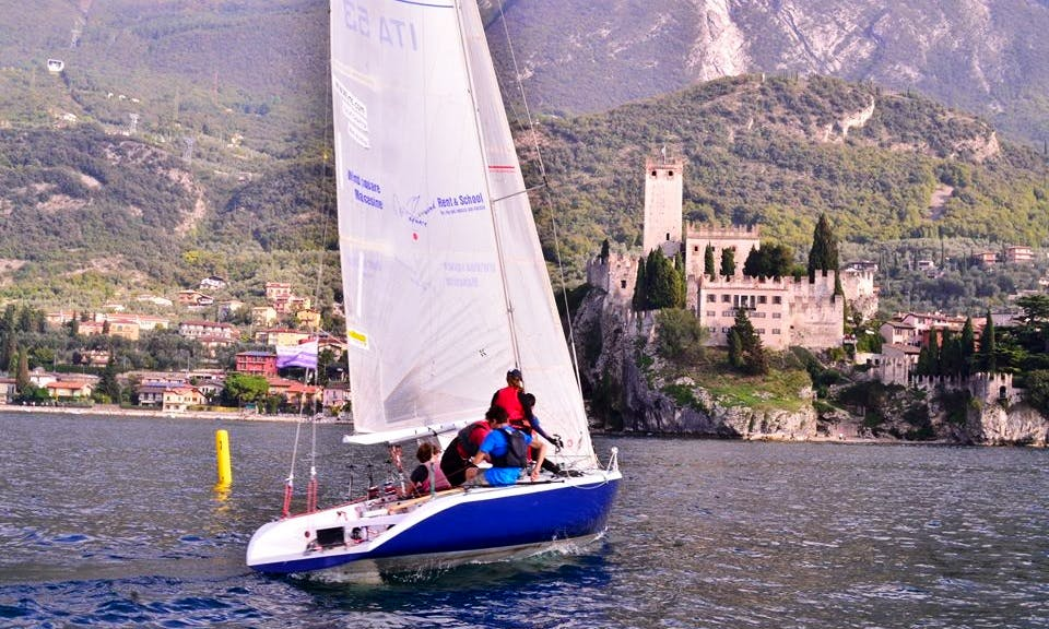 Rent this 33' Racing Yacht In Malcesine, Italy