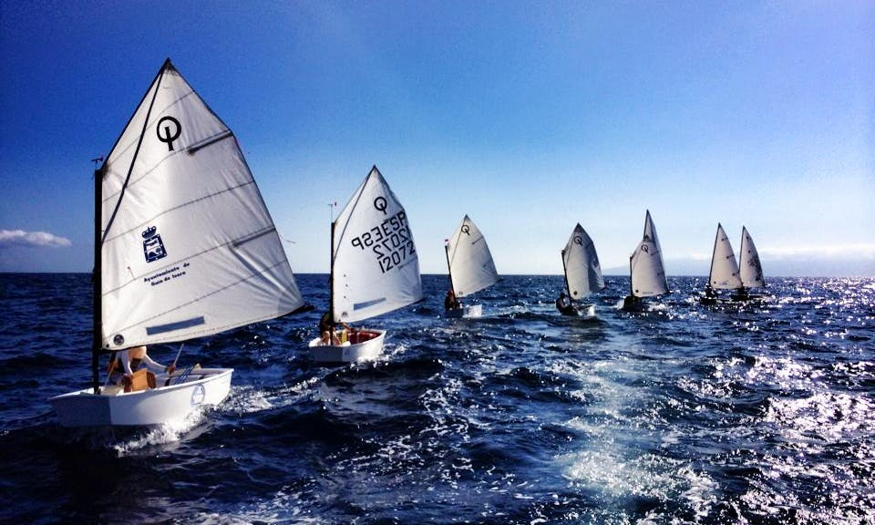 Optimist Daysailer Rental & Courses in Guía de Isora, Spain