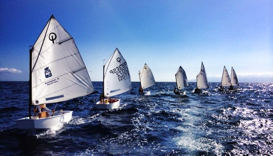 Optimist Daysailer Rental & Courses In Guía De Isora, Spain