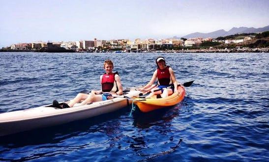 Single Kayak Rental & Courses In Guía De Isora, Spain