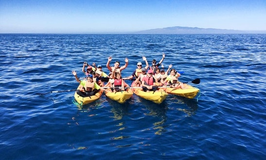 Rent A Double Kayak & Book A Kayak Courses In Guía De Isora, Spain