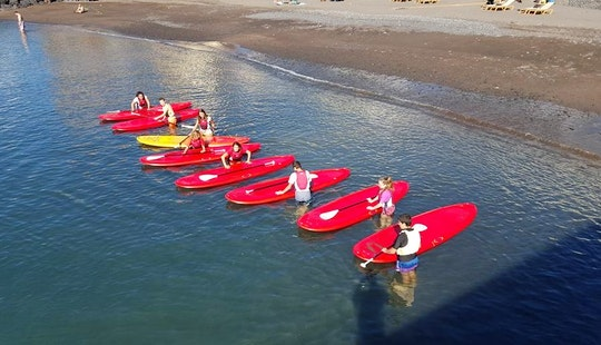 Stand Up Paddleboard Rental & Lessons In Tenerife, Canary Islands