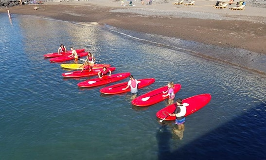 Stand Up Paddleboard Rental & Lessons In Guía De Isora