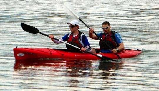 Relaxing Kayak Adventure In Matalascanas, Spain