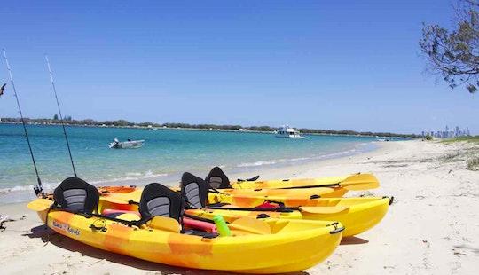 Double Kayak Hire In Currumbin