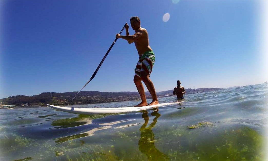 Stand Up Paddleboard Rental In Illa de Arousa