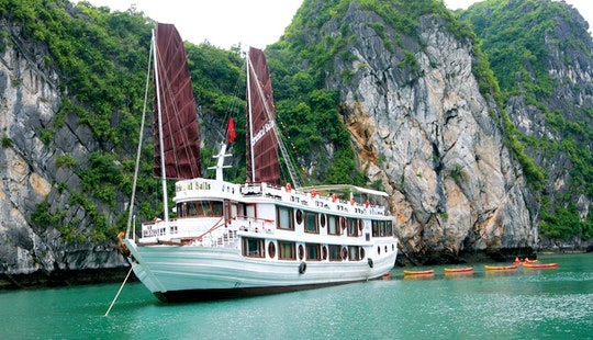 Oriental Sails On Halong Bay