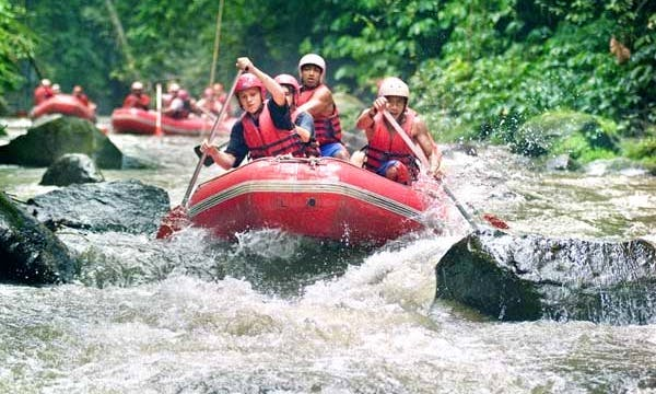 White water rafting at Ayung River Ubud